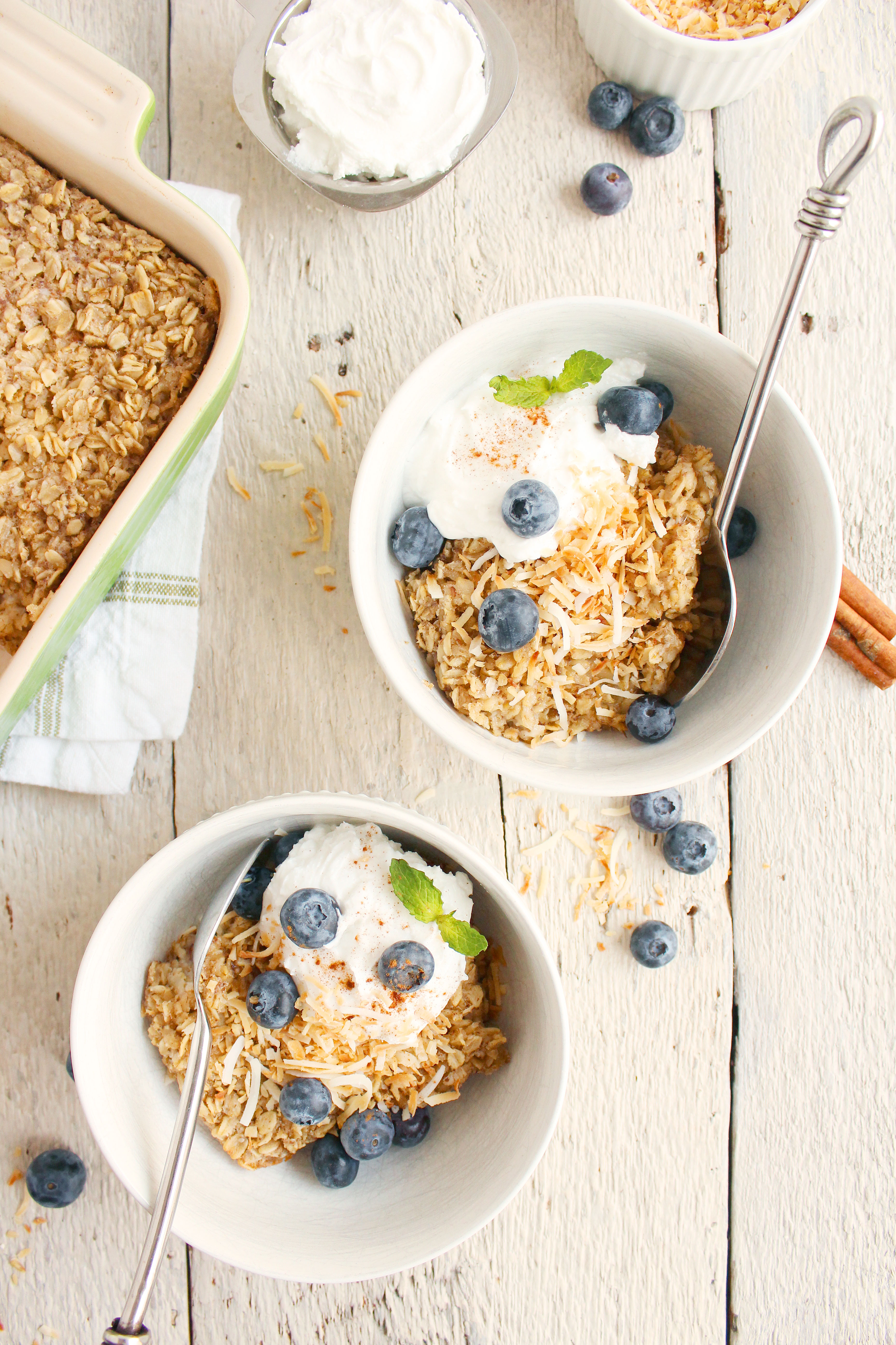 DELICIOUS Coconut Chai Baked Oatmeal! Your new breakfast go-to that's ...