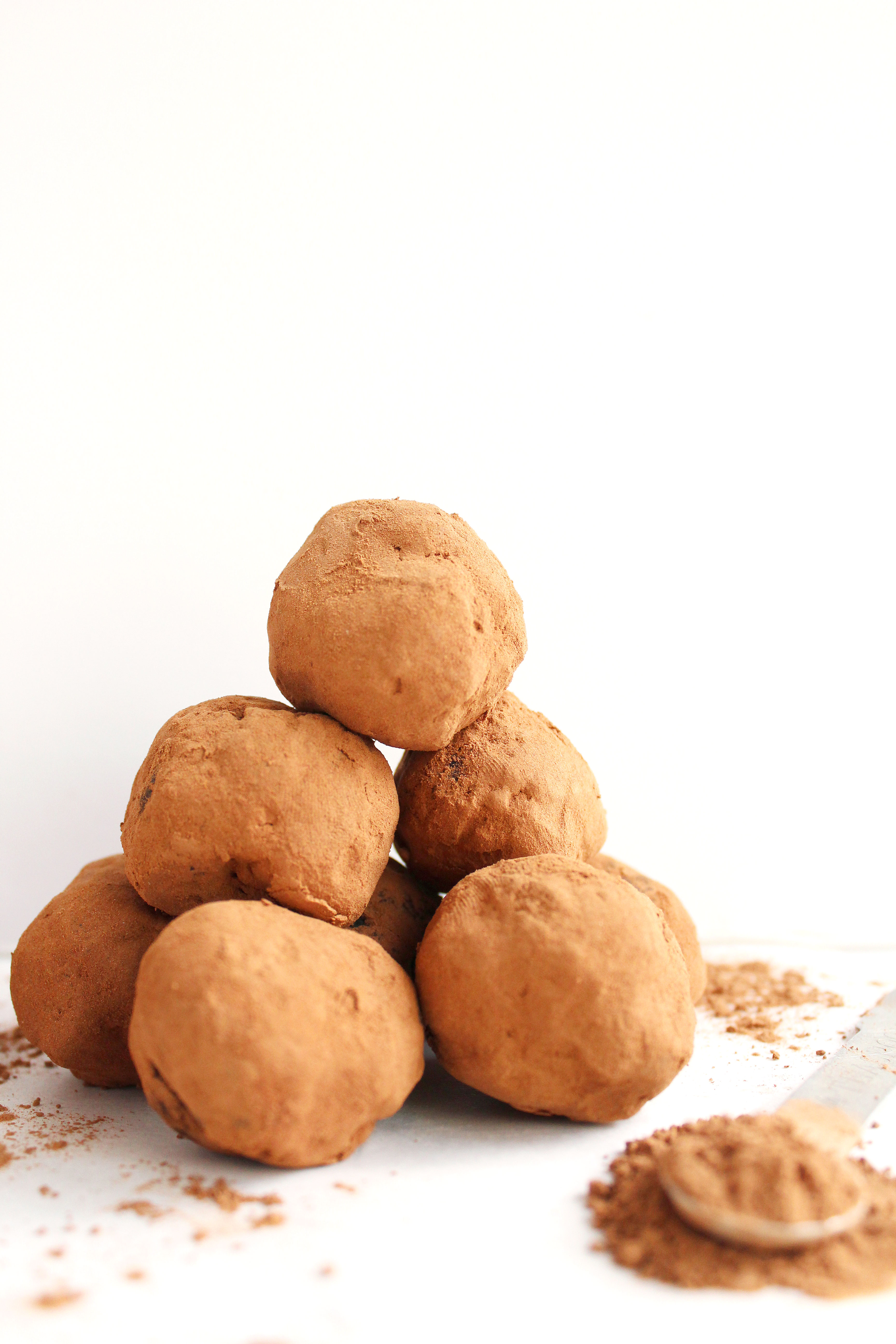 5 Ingredient Carob Truffles - Peach and the Cobbler - REAL food + ...